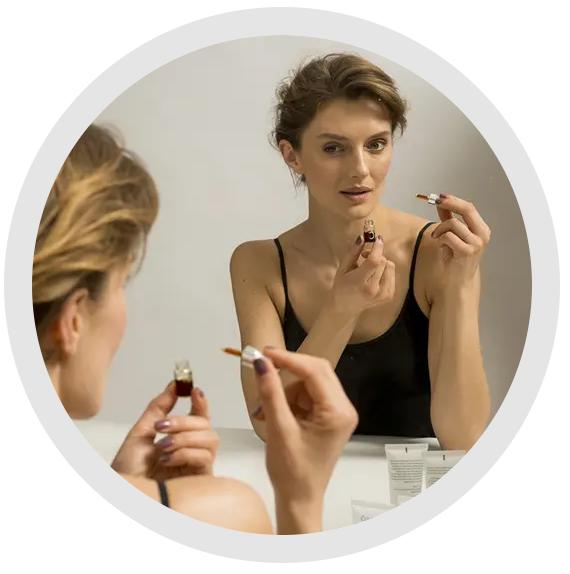 Bio-Care Skin Care Product application image